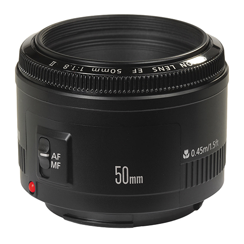 CanonEF 50mm f/1.8 Lens